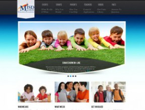 New layout for mansfieldisdfoundation.org A Complete Content Management System, an integrated Calendar, and multiple constant contact style newsletter scripts, this non profit looks like  ...