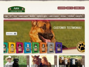Old website layout New website design This fine country store now has a website which will feature not only the products and brands that they  ...