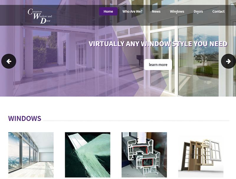 Home Improvement Website Design Portfolio