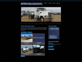 Texas Star Truck Sales needed an easier way to showcase their inventory and keep it current themselves.  We catered to their needs by merging the  ...