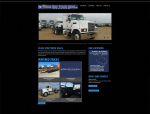 Texas Star Truck Sales Screenshot