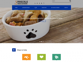 This sincere animal lover wanted Your Web Guys to help him bring his vision to life with a new responsive web design that would fit  ...
