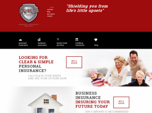 Independant insurance agency website design