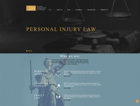 The AMS Law Group is a law firm specializing in Personal Injury, Family Law and Criminal Defense.  Your Web Guys was hired to give their  ...