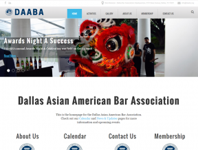 The Dallas Asian American Bar Association had need of an updated website that would cater to their specific needs and Your Web Guys was happy  ...