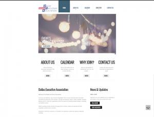 Dallas Executive Association Screenshot