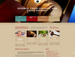 This popular law firm was ready for an updated website with a responsive web design. Your Web Guys was happy to deliver a classic website  ...