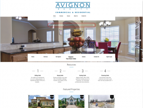 Avignon Realty is a commercial and residential real estate company that can take you step by step through buying, selling, or leasing your property.  Your  ...